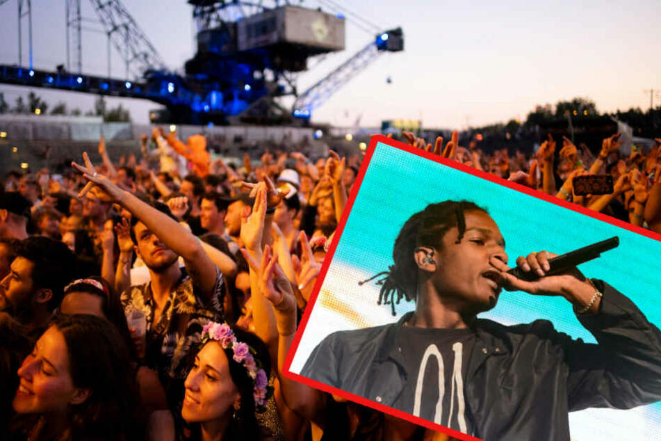 Schon beim Splash!-Festival konnte der US-Rapper nicht auftreten.