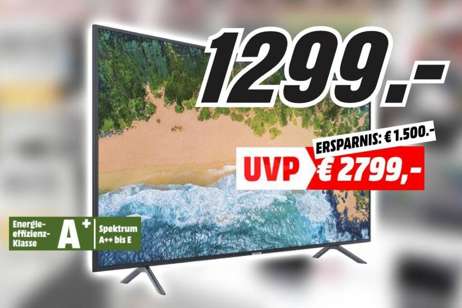 75-Zoll-TV jetzt 53% günstiger bei MediaMarkt Dresden - TAG24