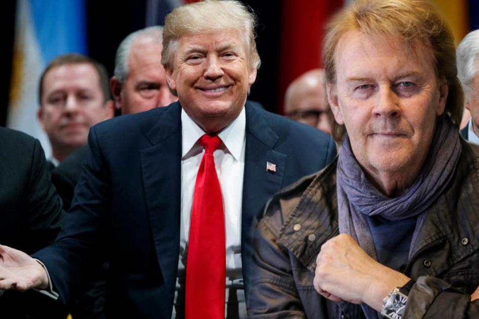 Howard Carpendale hat wegen US-Prsäident Donald Trump nun viel weniger Freunde.