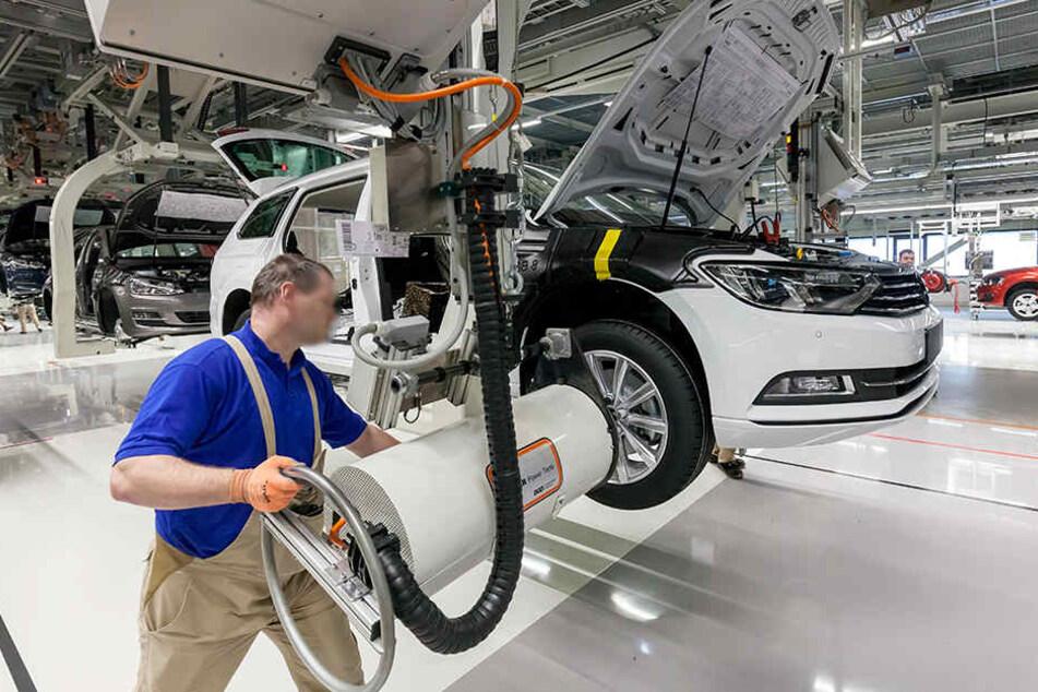 VW Zwickau soll reiner Elektrostandort werden. Die Produktion von Golf und Passat wäre hier dann vorbei.