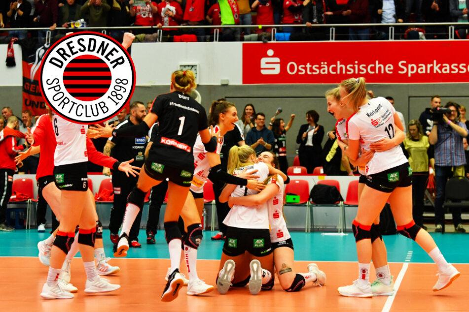 Wahnsinn! Dresdner SC zieht sensationell ins Europacup-Halbfinale ein