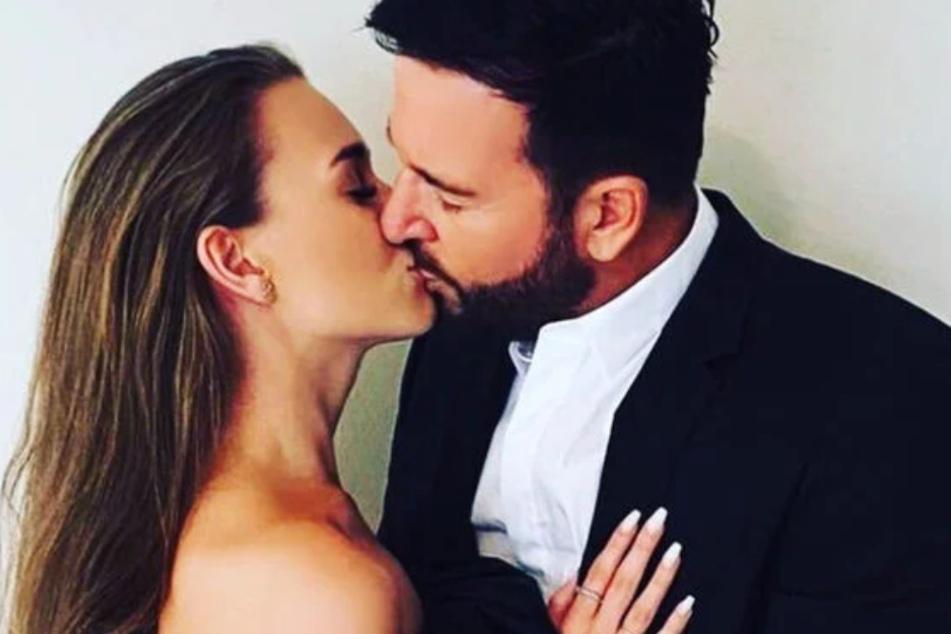 Laura Müller (19) und Michael Wendler (47) genießen ihr Liebesglück in vollen Zügen.