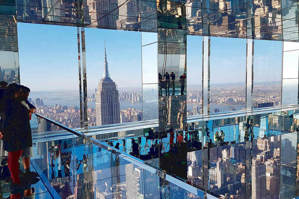 Through the looking glass: Summit is New York's newest viewing platform and art exhibit
