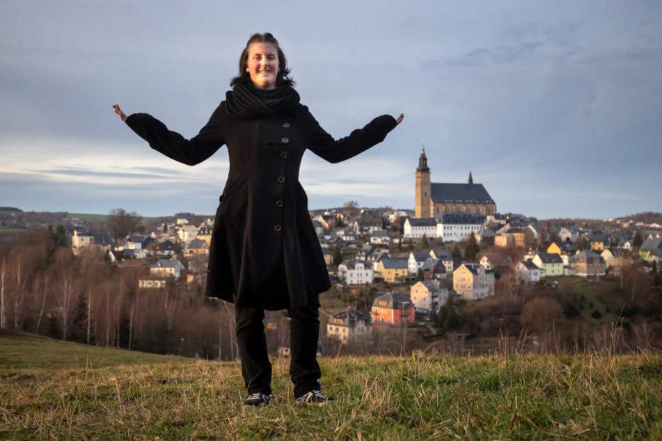 Die Schneebergerin ist die erste und einzige Bergfrau in Sachsen. In der Männerdomäne hat sie ihren Platz gefunden und wird respektiert.