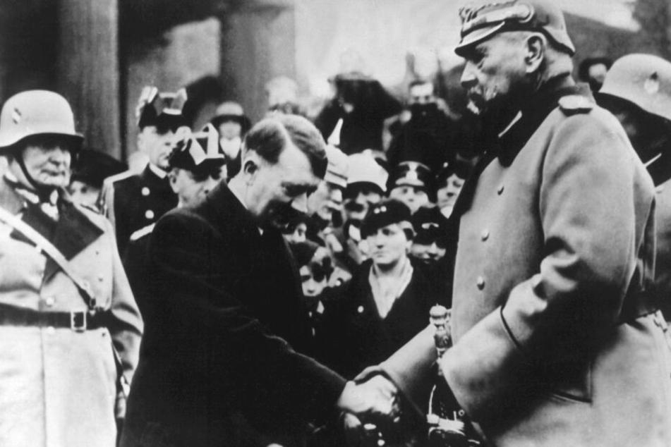 Paul von Hindenburg berief Adolf Hitler zum Reichskanzler.