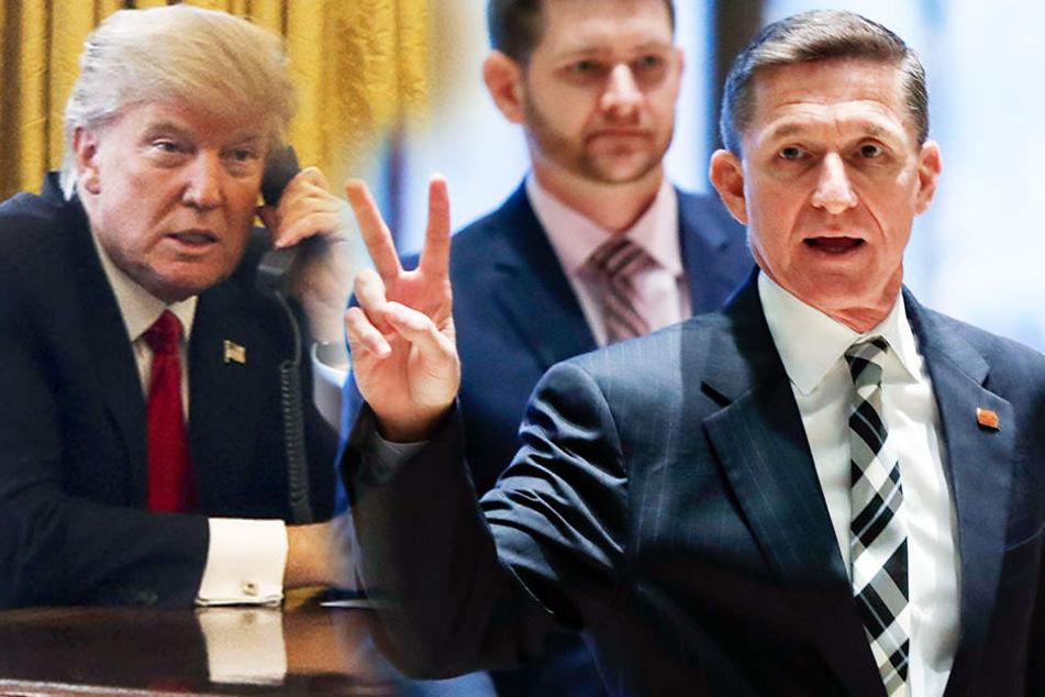 Erdbeben im Weißen Haus: Trumps Sicherheitsberater Flynn schmeißt hin