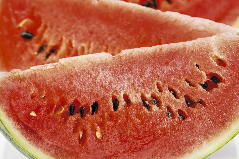 Wenn Deine Wassermelone so aussieht, solltest Du die Finger von ihr lassen!