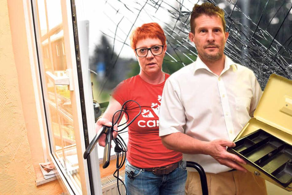 Während Polizei die ersten Tatorte untersucht, macht Einbrecher-Duo einfach weiter
