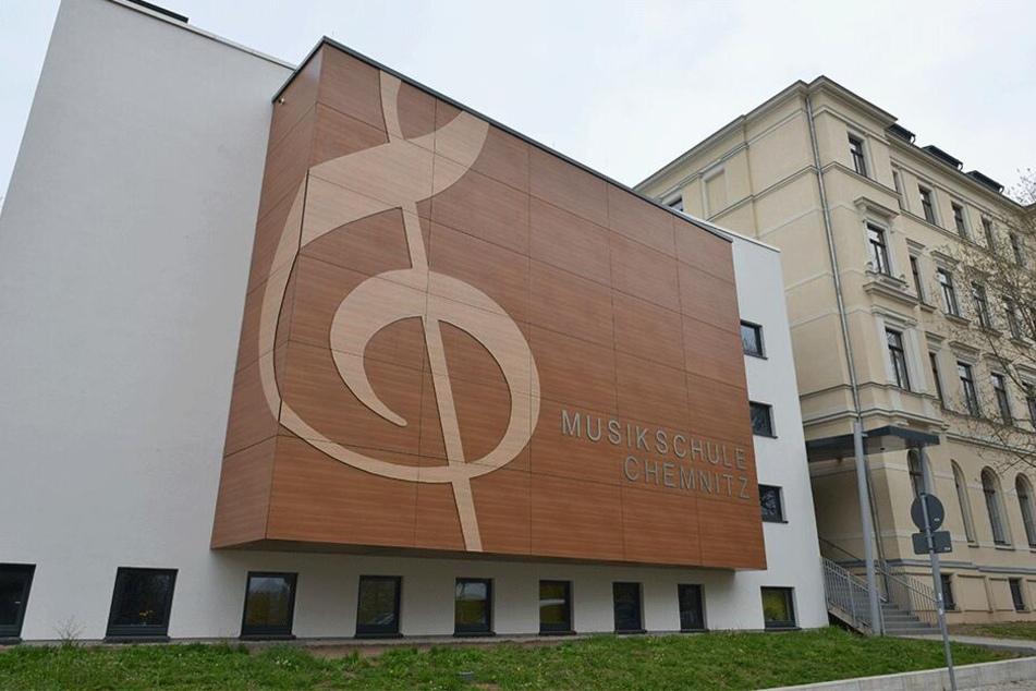 Die Musikschule in der Gerichtstraße 1.
