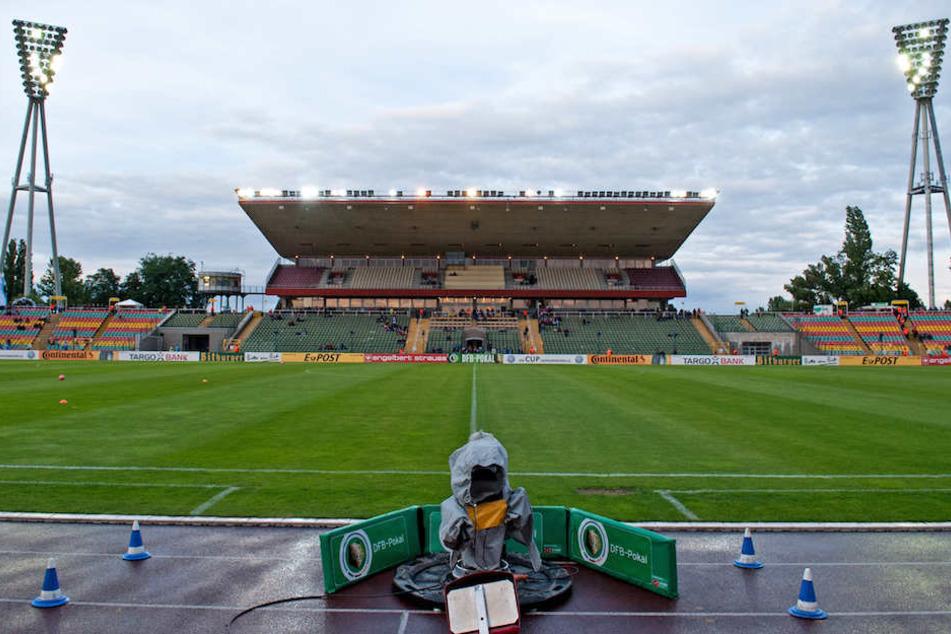 Der Friedrich-Ludwig-Jahn-Sportpark steht dem BFC Dynamo im DFB-Pokal gegen den 1. FC Köln nicht zur Verfügung.