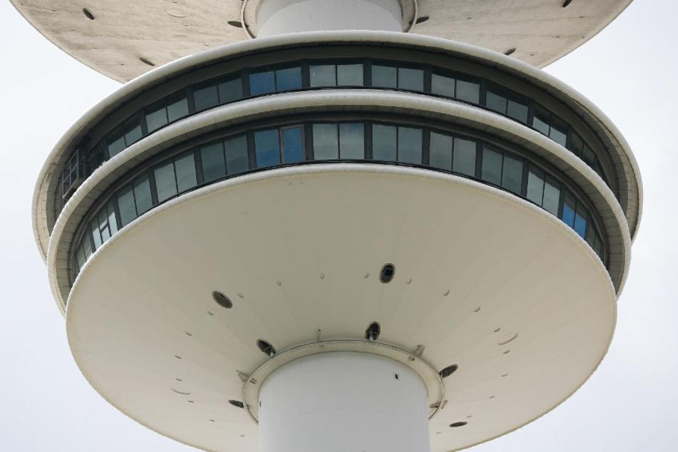 Die Aussichtsplattform auf dem Fernsehturm ist seit dem Jahr 2001 gesperrt.