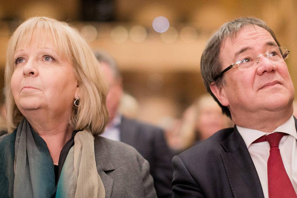 Hannelore Kraft (SPD) und Armin Laschet (CDU) stellen sich den Fragen des WDR.