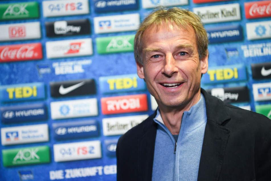 Jürgen Klinsmann ist der neue Trainer bei Hertha BSC.