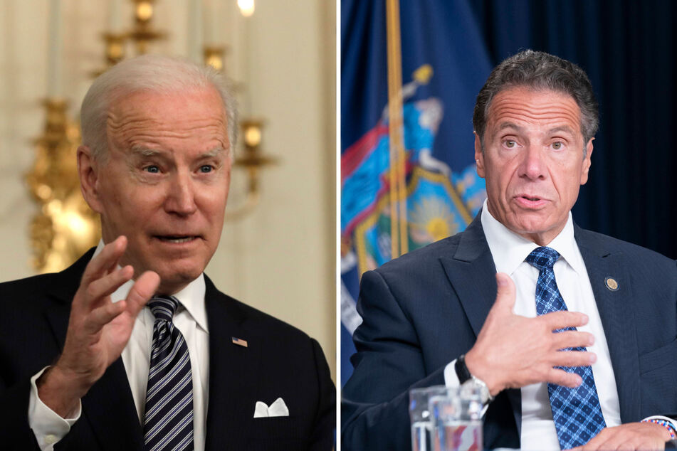 Biden speaks out on Cuomo's position in wake of mounting sexual misconduct allegations