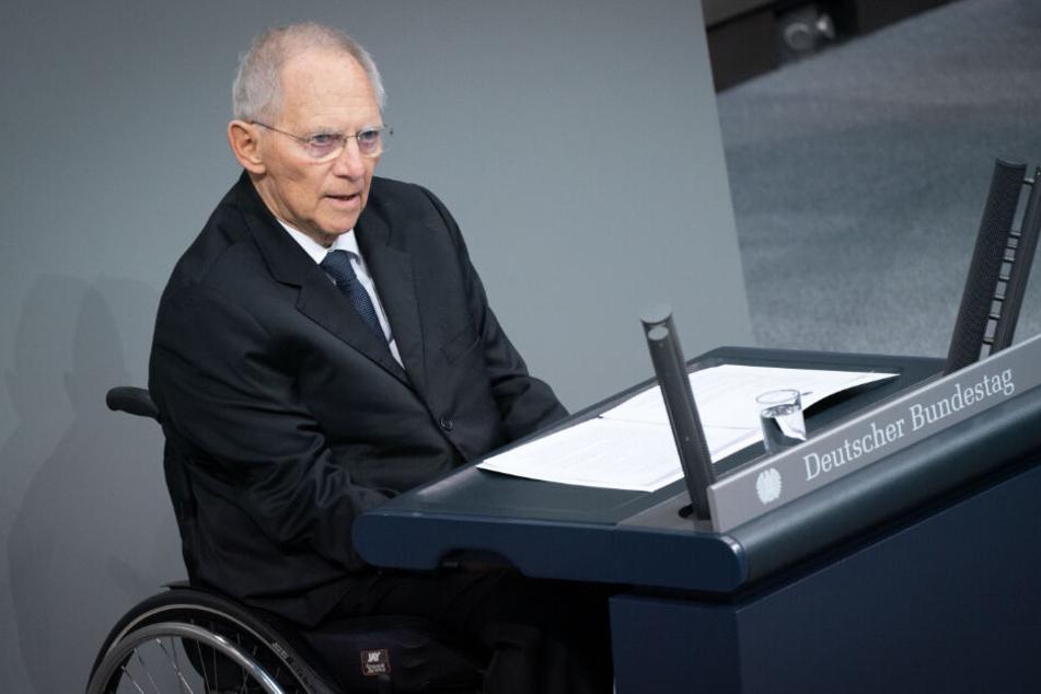 Bundestagspräsident Wolfgang Schäuble bedauert die Entscheidung der Briten.