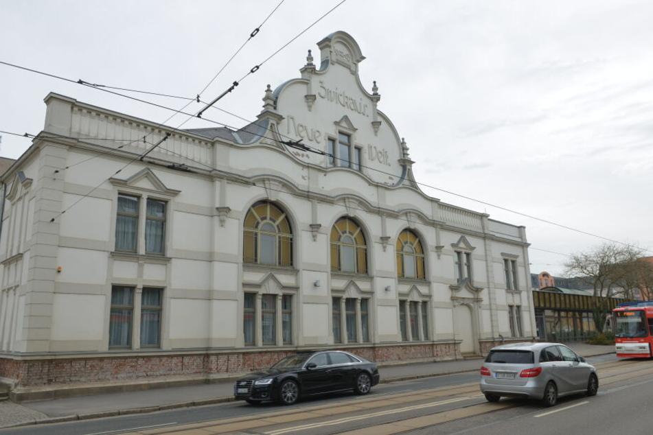 """Unbekannte Einbrecher haben in der Nacht zum Mittwoch das Konzert- und Ballhaus """"Neue Welt"""" in der Leipziger Straße aufgesucht."""
