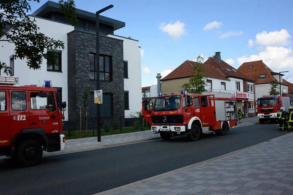 Die Feuerwehr wurde sofort alarmiert.