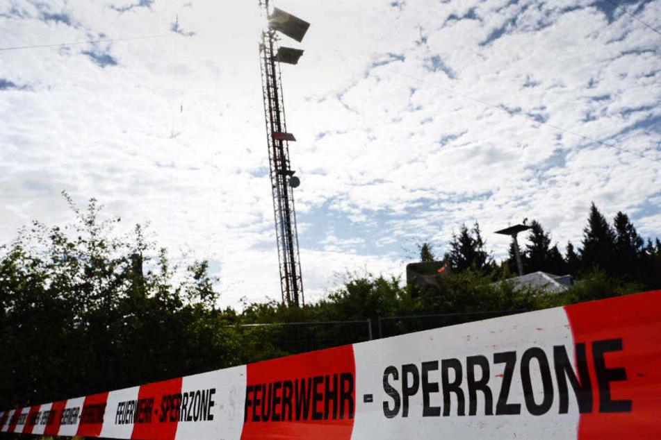 Die Wartungs-Gondel war am 3. September am Hohen Meißner aus etwa 50 Metern abgestürzt.