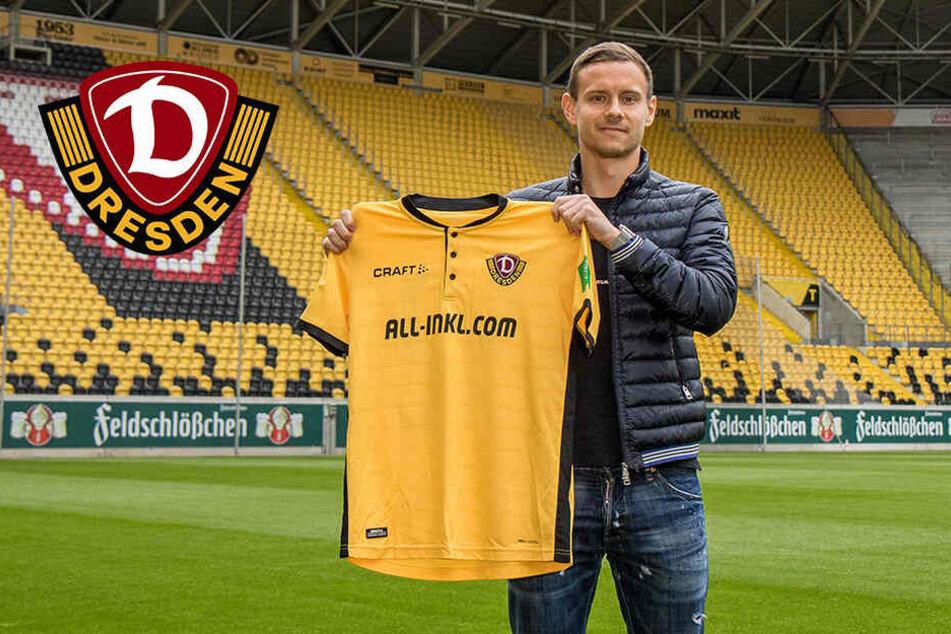 """""""Das war das Allergrößte"""": Dynamo-Neuzugang Chris Löwe im Interview"""