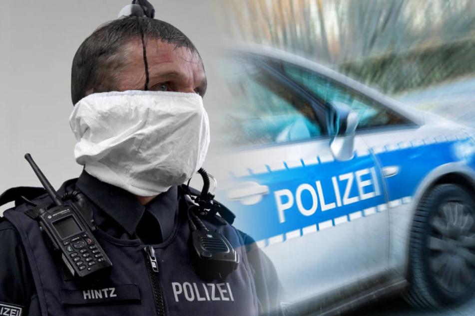 """Die Polizei-Gewerkschaft fordert, dass die Streifenwagen mit sogenannten """"Spuckhauben"""" ausgestattet werden."""