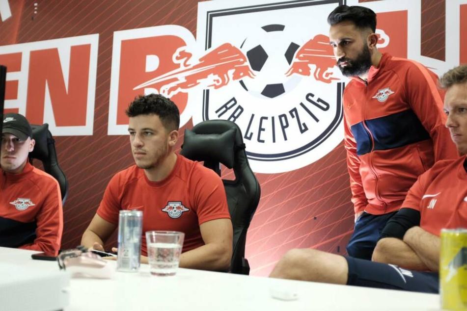 eSport-Neuling: Diego Demme zockte am Montagabend erstmals für RB Leipzig in der Virtual Bundesliga.