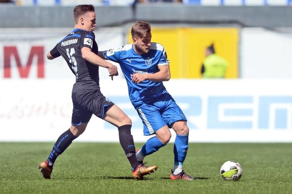 Die Jenaer konnten gegen Paderborn nichts holen.