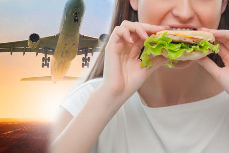 Das Mädchen erlitt im Flugzeug einen allergischen Schock, weil sie von einem Baguette aß. (Symbolbild).