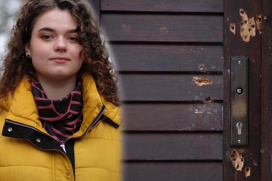 """""""Wunder von Halle"""": Diesen Plan hat Lidia (18) mit der zerschossenen Synagogentür"""