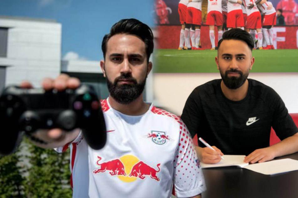 FIFA-Profi Cihan Yasarlar (25) hat seinen Vertrag bei RB Leipzig vorzeitig bis 2019 verlängert.