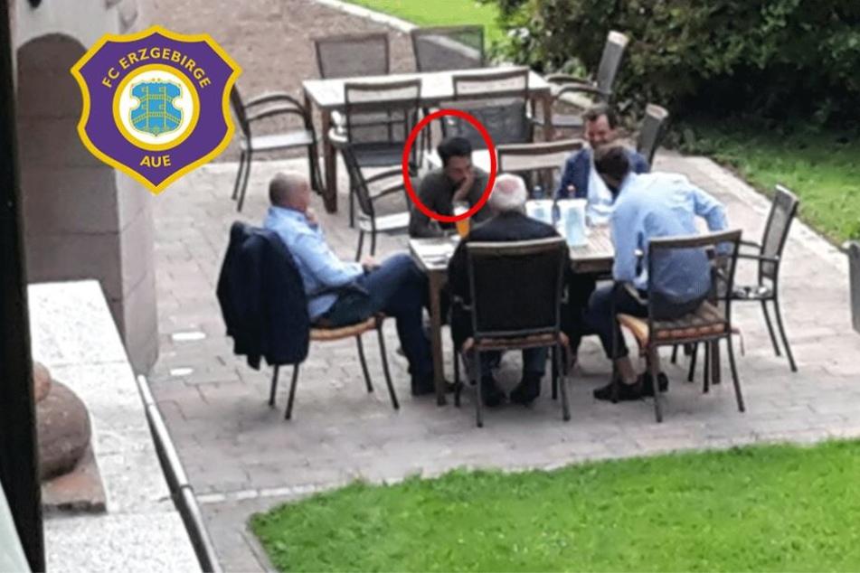 Geheimtreffen: Hier verhandelt Aue-Boss Leonhardt mit dem Lotte-Trainer