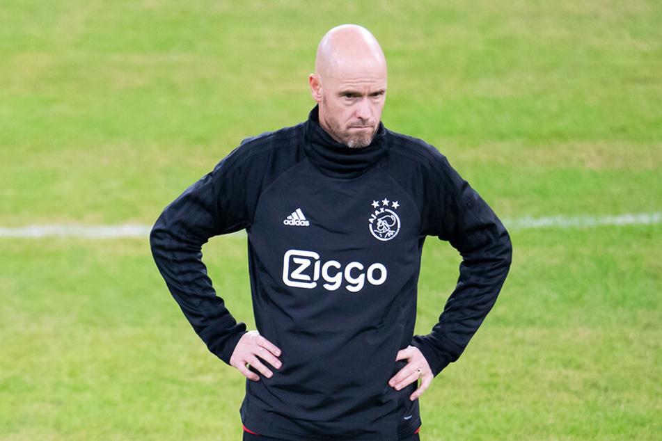 Ajax-Coach Erik ten Hag hat momentan mit der Inkonstanz seiner Mannschaft zu kämpfen.
