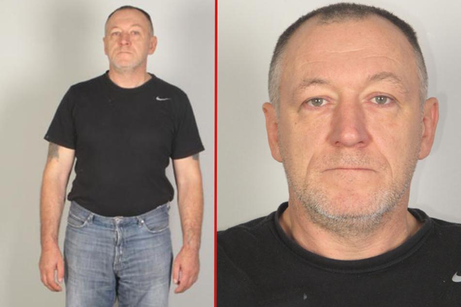 Die Polizei hat Fahndungsfotos des Gesuchten veröffentlicht.