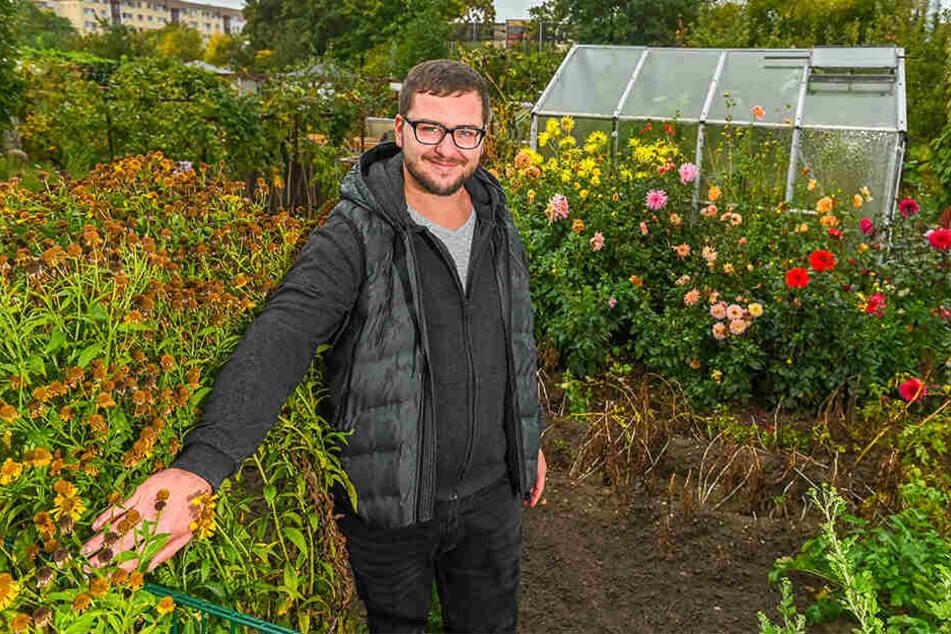 Kleingarten-Karriere: Vom jüngsten Laubenpieper zum Sparten-Chef