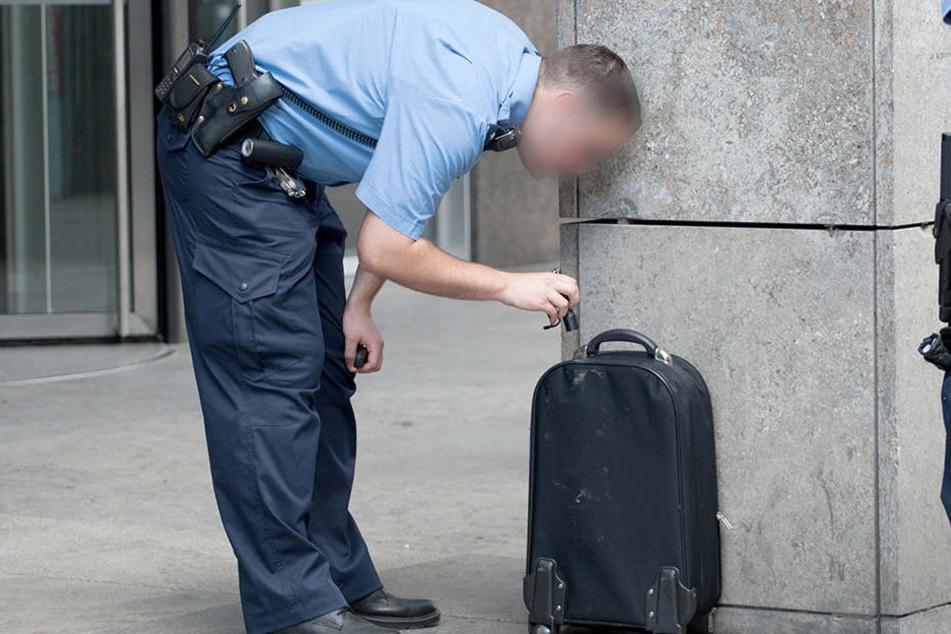 Der Besitzer eines herrenlosen Koffers im Hauptbahnhof Halle (Saale) konnte erst nach Evakuierung der Reisenden gefunden werden. (Symbolbild)