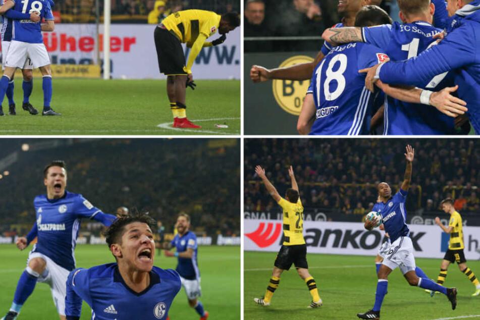 Beim letzten Derby lag Schalke mit vier Toren zurück und glich noch zum 4:4-Endstand aus.