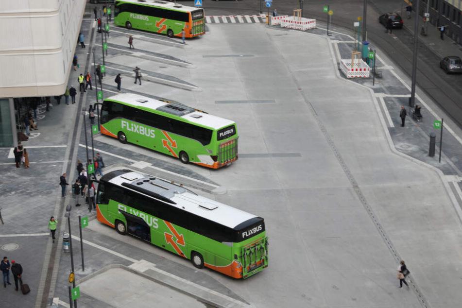 Der Fernbusbahnhof wurde vier Jahre lang gebaut.