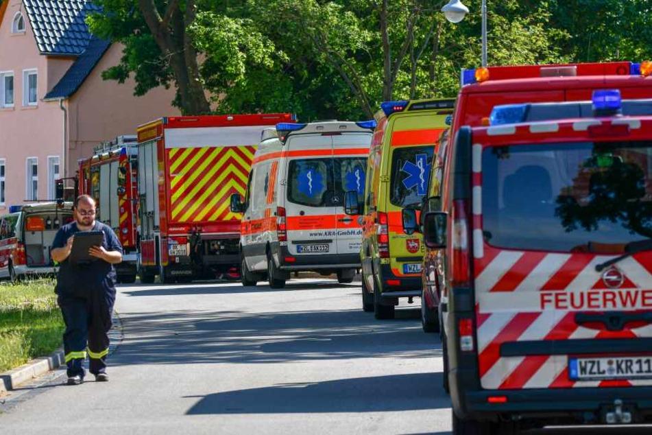 Ein Großaufgebot an Rettungskräften war im Einsatz.