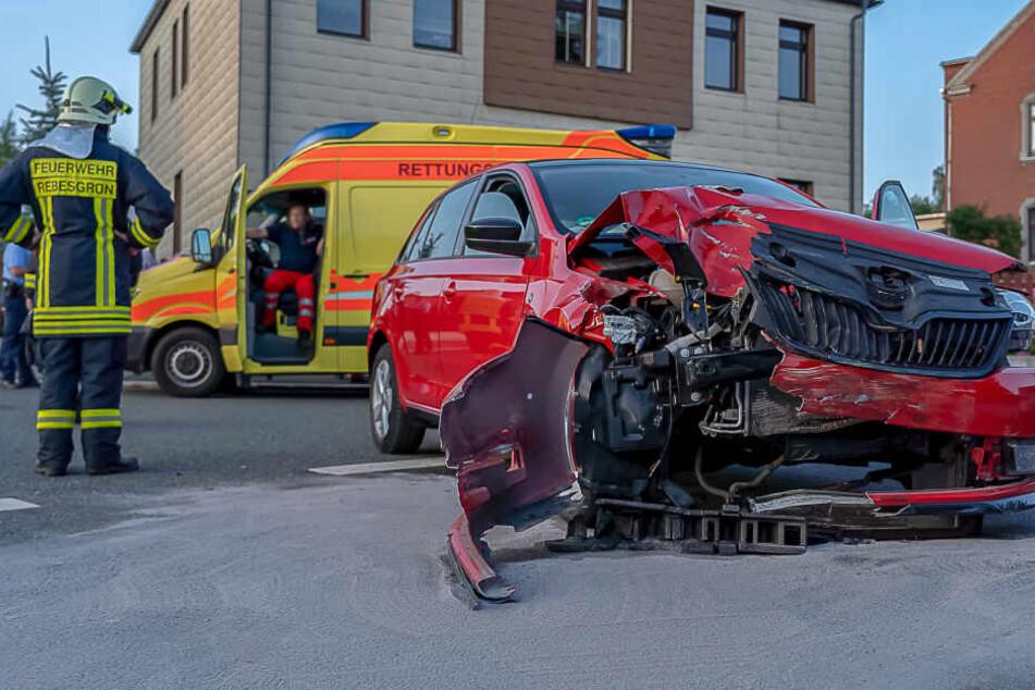 An den Autos entstand ein Schaden von rund 17.000 Euro.