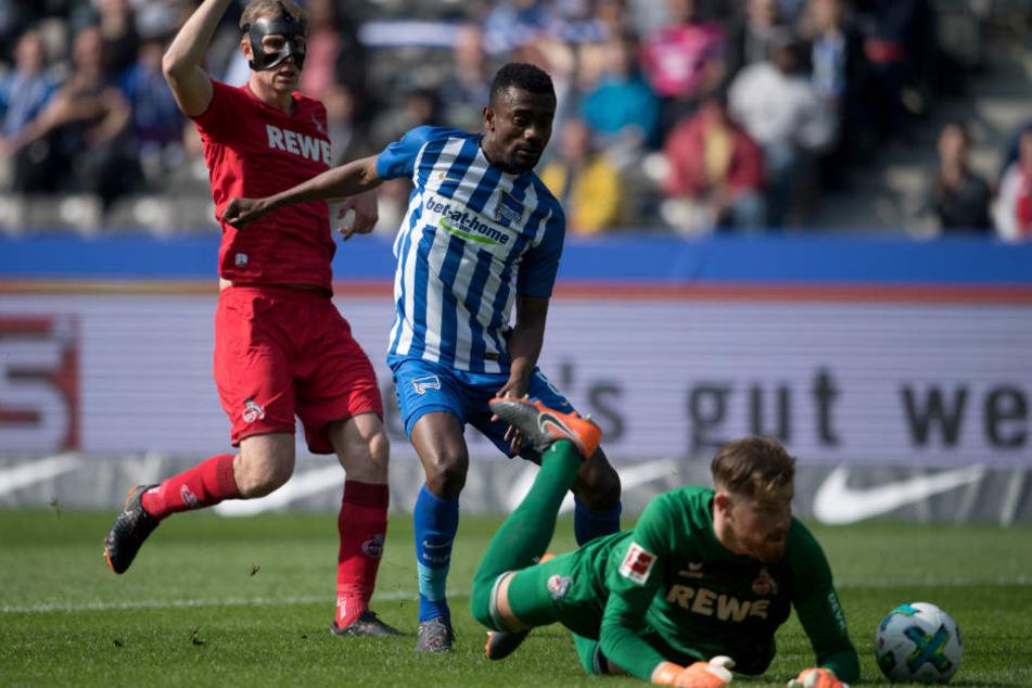 Die FC-Abwehr um Keeper Timo Horn ließ in der ersten Halbzeit kein Gegentor zu.