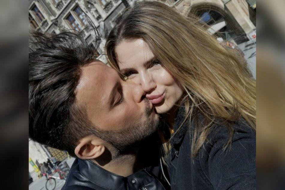 Glücklich vergeben: Domenico mit seiner Freundin Julia.