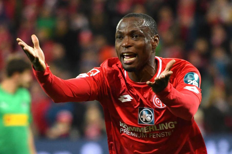 Anthony Ujah wechselt im Sommer zum 1. FC Union Berlin.