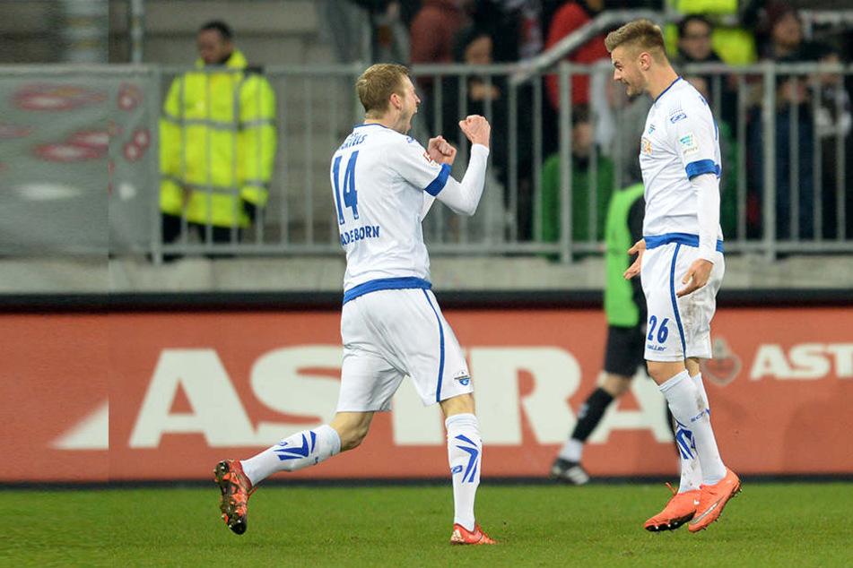 Beim letzten Aufeinandertreffen der beiden Vereine entschied der SCP die Partie mit 4:1 für sich.
