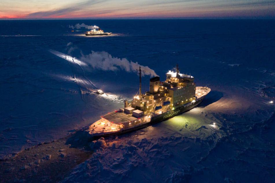 """""""Polarstern""""-Expedition kämpft in der Arktis mit unerwarteten Problemen"""