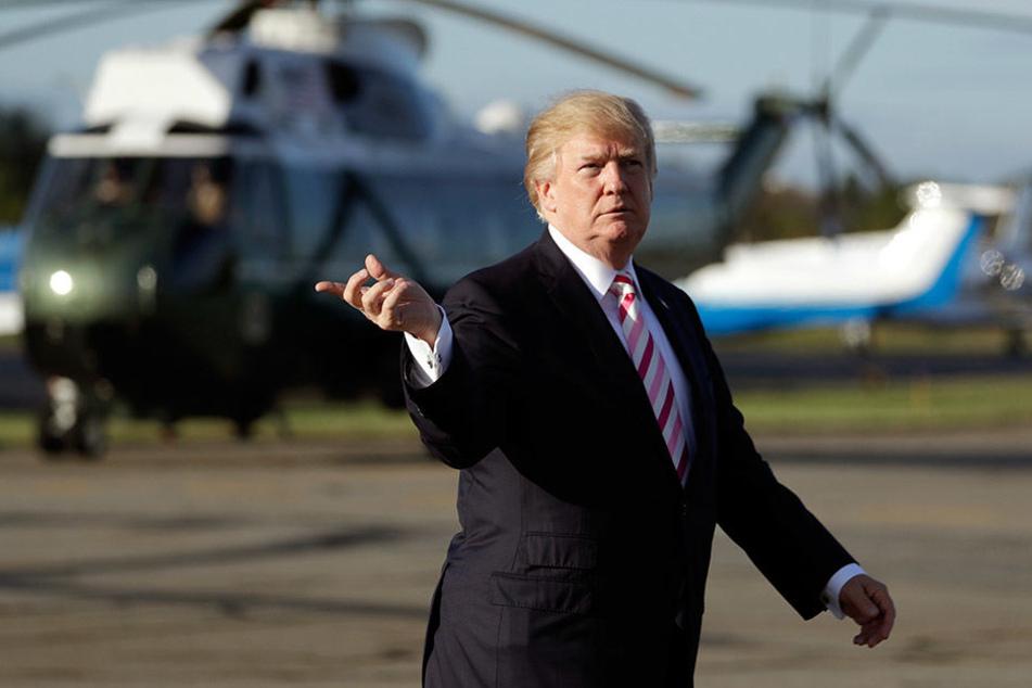 Donald Trump zieht gegen den nordkoreanischen Staatschef vom Leder.