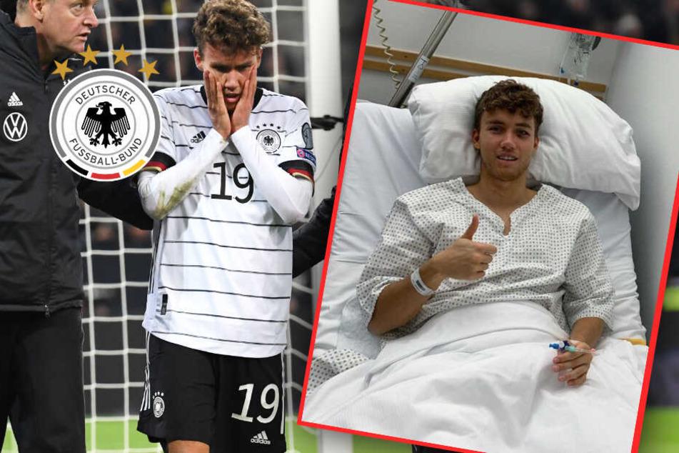 DFB-Star im Pech: Luca Waldschmidt meldet sich nach Operation bei Fans