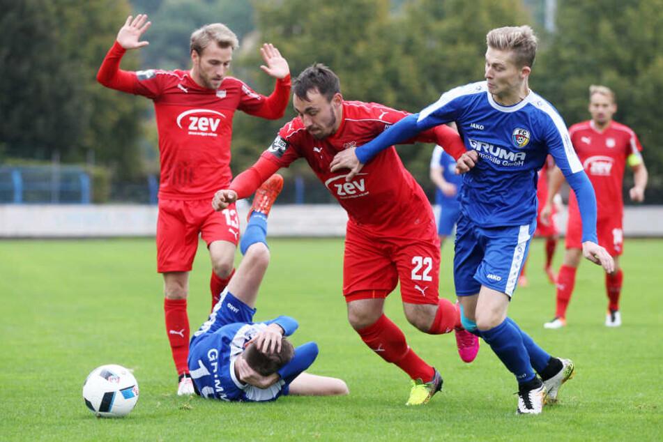 Hart erkämpft: Der Sieg gegen den FC Grimma war mühsam, aber verdient.