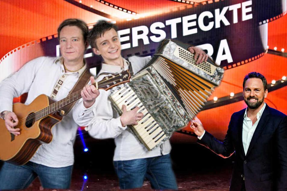 """Die versteckte Kamera"": Steven Gätjen legt Erzgebirgs-Star rein"