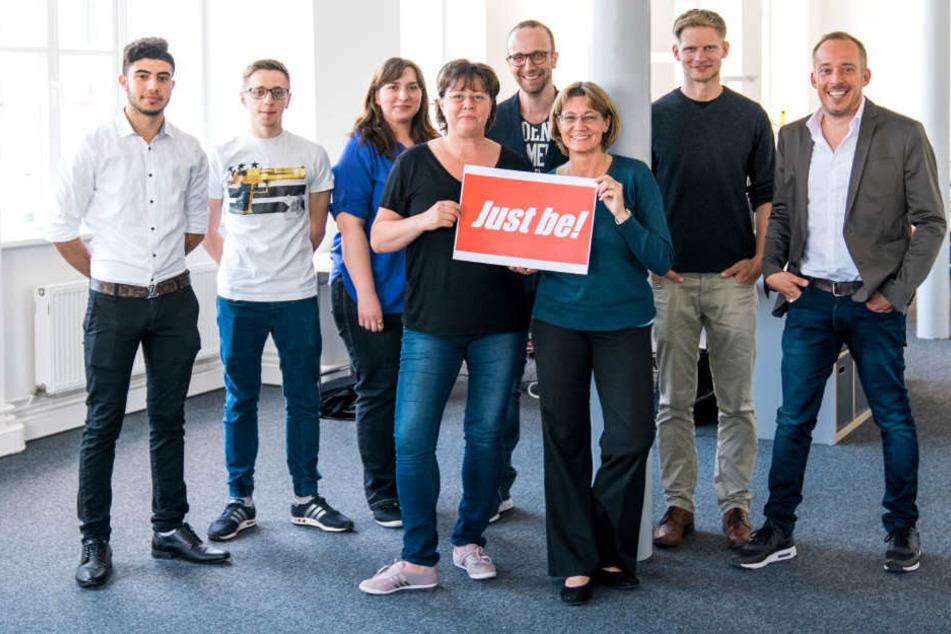 Just Be! Das Team von BERetail freut sich schon auf Dich.