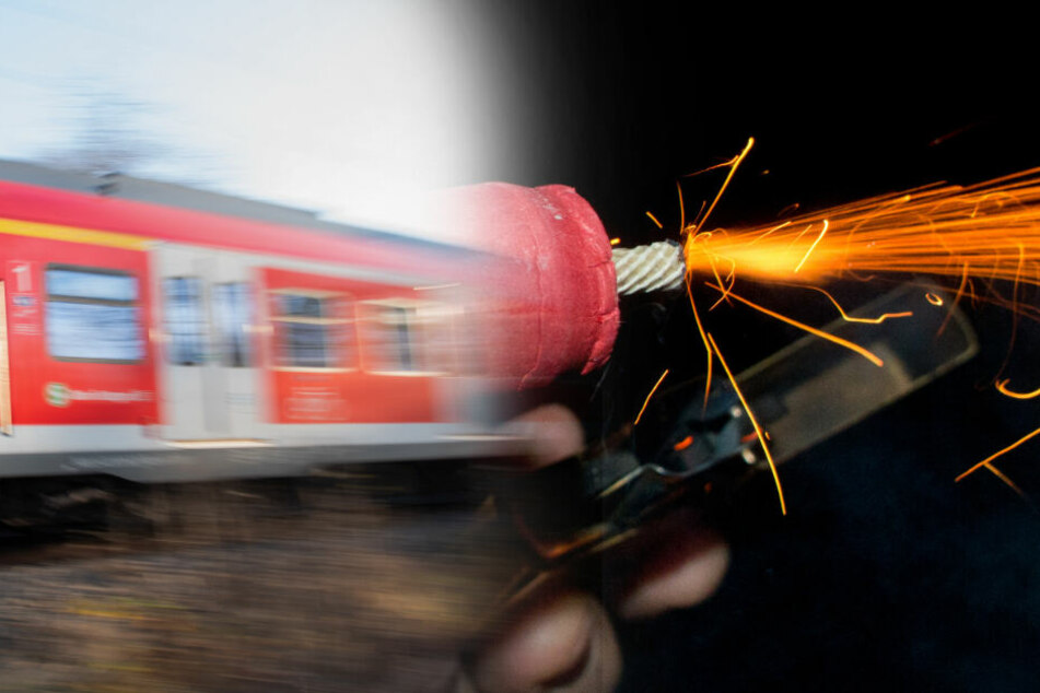 Böller in S-Bahn auf Passagiere geworfen: Polizei sucht Zeugen