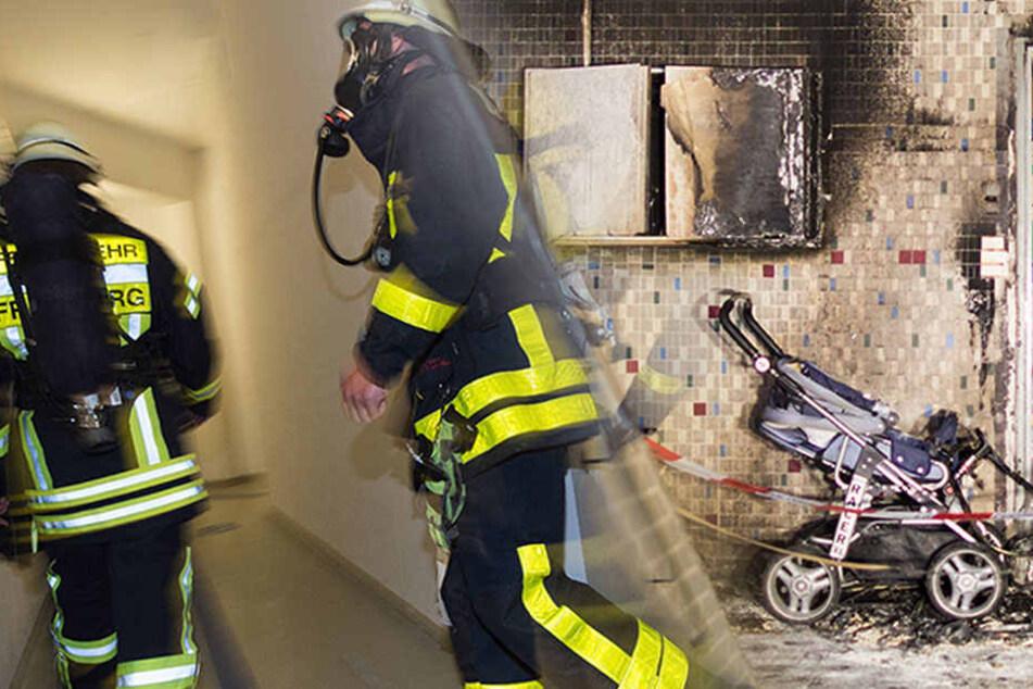 Durch das beherzte Eingreifen der Bewohner wurde wahrscheinlich ein größerer Brand verhindert. (Symbolbild)